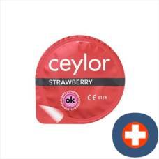 Ceylor strawberry condom 6 pieces