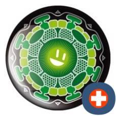Avantgarde energetic energy badge lucky ray smara