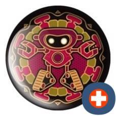 Avantgarde energetic energy badge patron gold