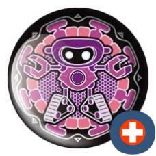 Avantgarde energetic energy badge patron ruby