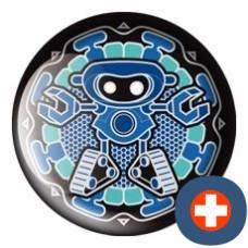 Avantgarde energetic energy badge patron sapphire