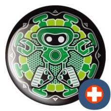 Avantgarde energetic energy badge patron emerald