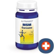 Alpinamed msm curcuma tablets ds 90 pcs