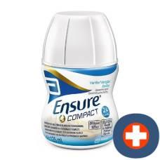 Ensure compact 2.4 kcal drink vanilla 4 x 125 ml
