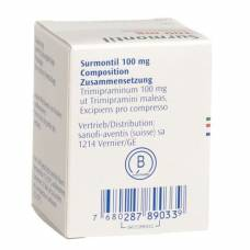 Surmontil tbl 100 mg Ds 20 pcs