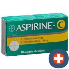 Aspirin c brausetabl 10 pcs