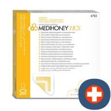 Medihoney antibacterial hcs dressing non adhesive 784 20x20cm 5 pcs