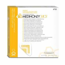 Medihoney hcs antibacterial dressing adhesive 782 11x11cm 10 pcs
