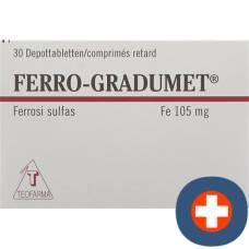 Ferro-gradumet depottabl 30 pcs