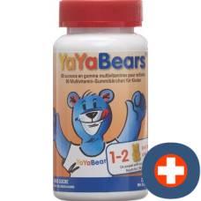 Yayabears gummi bears multivitamin without sugar 60 pc
