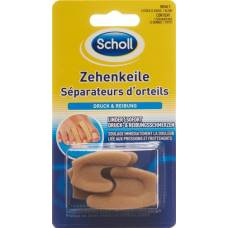 Scholl toes wedges 1 small / large 2