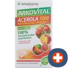 Arkovital acerola arkopharma tbl 1000 mg 30 pcs