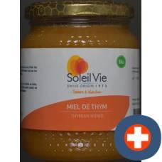 Soleil vie thyme honey bio 500 g