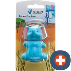 Miradent funny snapper toothbrush holder elephant