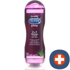 Durex massage and lubricant 2 in 1 200 ml