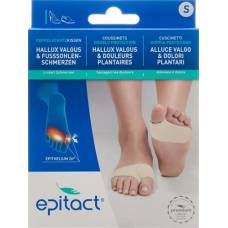 Epitact foot cushions double protection s <24cm 1 pair