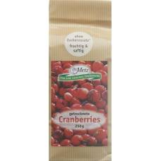 Dr. metz cranberries dried berries 250 g