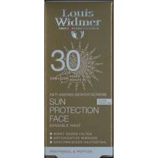 Louis widmer soleil sun protection face 30 non parfumé 50 ml