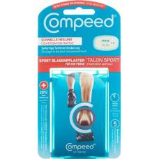 Compeed sports blister on the heel 5 pcs