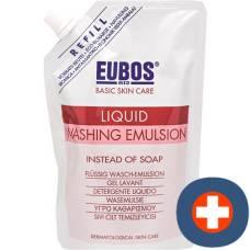 Eubos soap liq parf pink refill 400 ml