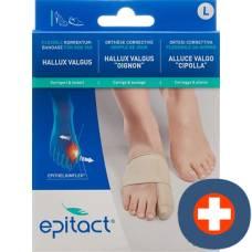Epitact flexible bandage correction hallux valgus tag l 23-24.5cm