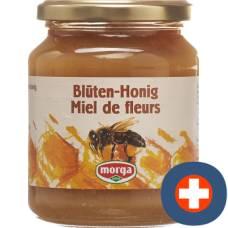 Morga blossom honey abroad glass 500 g