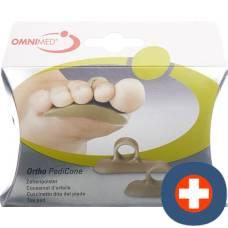 Omnimed ortho pedicone toe pad 1 pair
