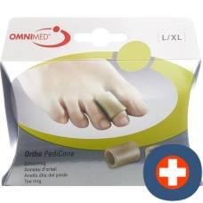 Omnimed ortho pedicone toe ring l / xl 2 pcs
