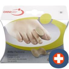 Omnimed ortho pedicone toe spreader m 2 pcs
