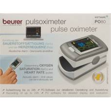 Beurer fingerpulsoxymeters with 24 memory po 80