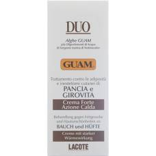 Guam duo cream abdominal + hip warming 150 ml