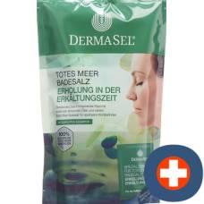 Dermasel bath salts colds + 20ml btl 400g