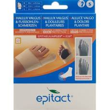 Epitact flexible double protective bandage correction hallux valgus tag s 20-21.5cm right