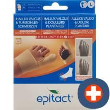 Epitact flexible double protective bandage correction hallux valgus tag l 23-24.5cm left