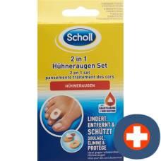 Scholl 2in1 corns set