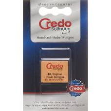 Credo replacement blades hornhauthobel blist 10 pcs