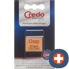 Credo replacement blades hornhauthobel 2 x 10 pcs