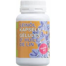 Phytomed linseed oil bio 500mg + vitamin k2 kaps 180 pcs