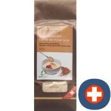 Biofarm brown millet flour ch bud btl 400 g