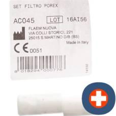 Flaem set two filter porex nebulflaem