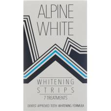 Alpine white whitening strips for 7 applications