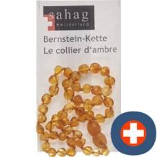 Sahag amber necklace 35cm