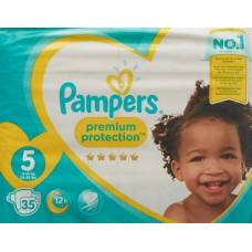 Pampers premium protection gr5 11-16kg junior sparpackung 35 pcs