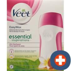 Veet easywax sensitive roll-on set natural