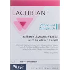 Lactibiane teeth and gums lutschtabl 30 pcs