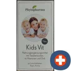 Phytopharma kids vit lutschtabl 10 vitamins & zinc 50 pcs