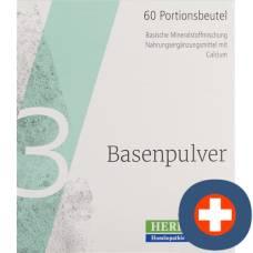 Herbamed basenpulver iii 60 stick 3.5 g