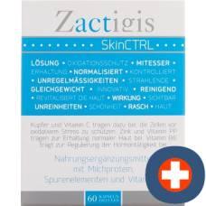 Zactigis skinctrl gélules 60 pcs