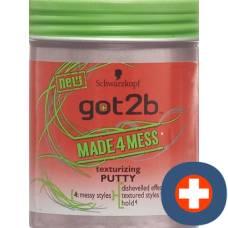 Got2b made4mess dry putty 100 ml