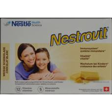 Nestrovit white chocolate tablets 100 pcs